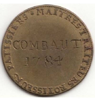 Jeton Louis XVI corporation des traiteurs-pâtissiers-rôtisseurs 1784