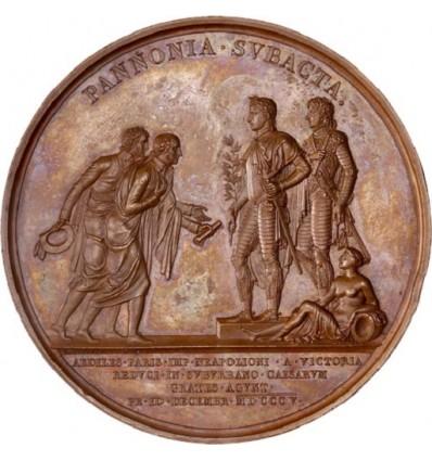 Napoléon I députation des maires de Paris à Schönbrunn 1805