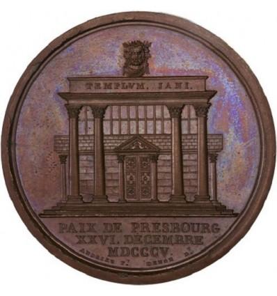 Napoléon I paix de Presbourg signée avec l'Autriche 1805