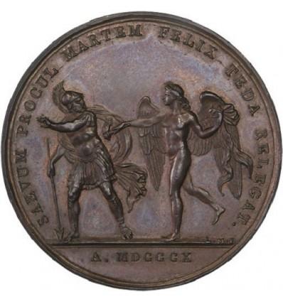 Mariage à Paris de Napoléon I et Marie-Louise d'Autriche 1810