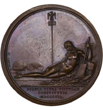 Napoléon I L'armée française sur la Vistule ( Pologne ) 1807