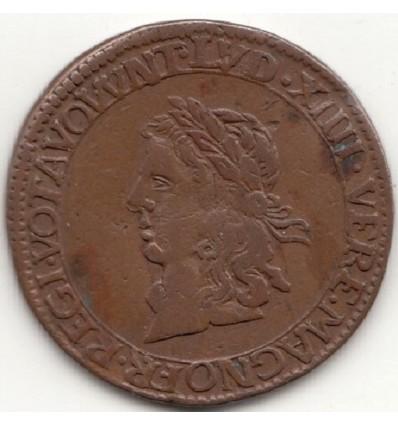 "Jeton Louis XIV "" Que nobis notra dederunt "" 1660"