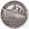 Compagnie Générale Transatlantique, paquebot Le Normandie par Vernon 1935