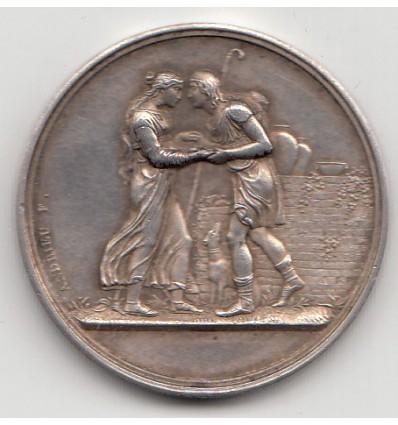 Médaille de mariage 1883