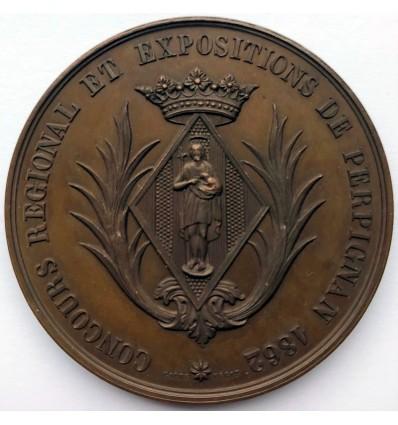 Napoléon III concours régional et exposition de Perpignan 1862