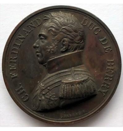 Mort de Charles Ferdinand duc de Berry par Gayrard 1820