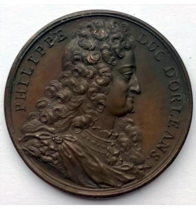 Philippe, duc d'Orléans par Dassier 1723