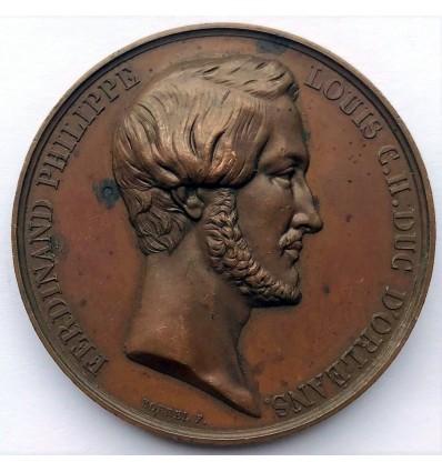 Ferdinand Philippe Louis Charles d'Orléans par Borrel s.d.