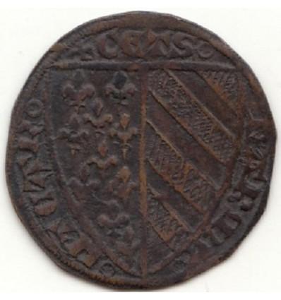 Jeton de compte, Jeanne de Bourgogne s.d.