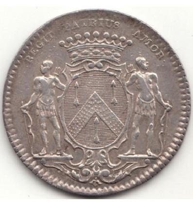 Jeton aux armes de Jean-Pierre Burteur, maire de Dijon 1733
