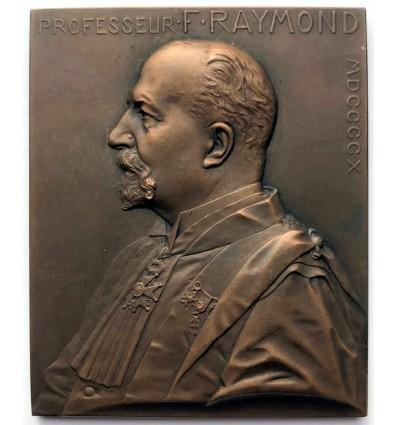 Médecine, hommage au professeur Fulgence Raymond par Prud'homme 1910
