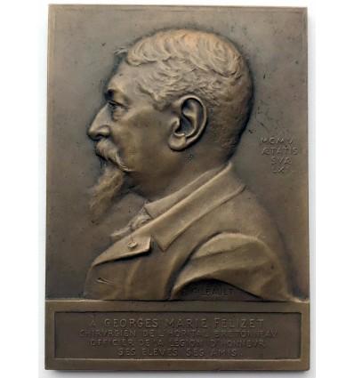 Médecine, hommage au professeur Georges Marie Félizet par Gilbault