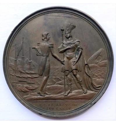 France-Brésil, Arrivée du Prince de Joinville à Roi de Janeiro 1838