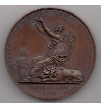 Le comte d'Artois ville de Lyon 1814