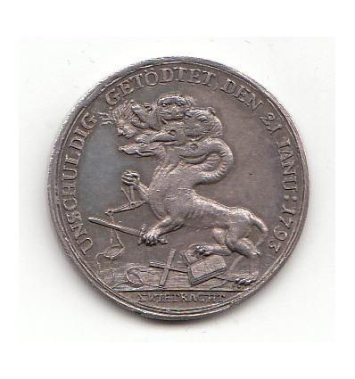 Louis XVI médaille pour la mort du roi 1793
